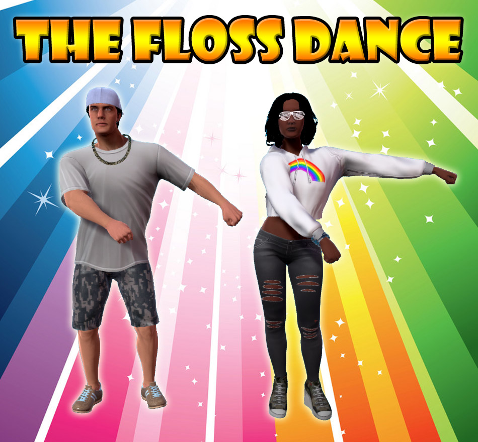 how to floss the dance