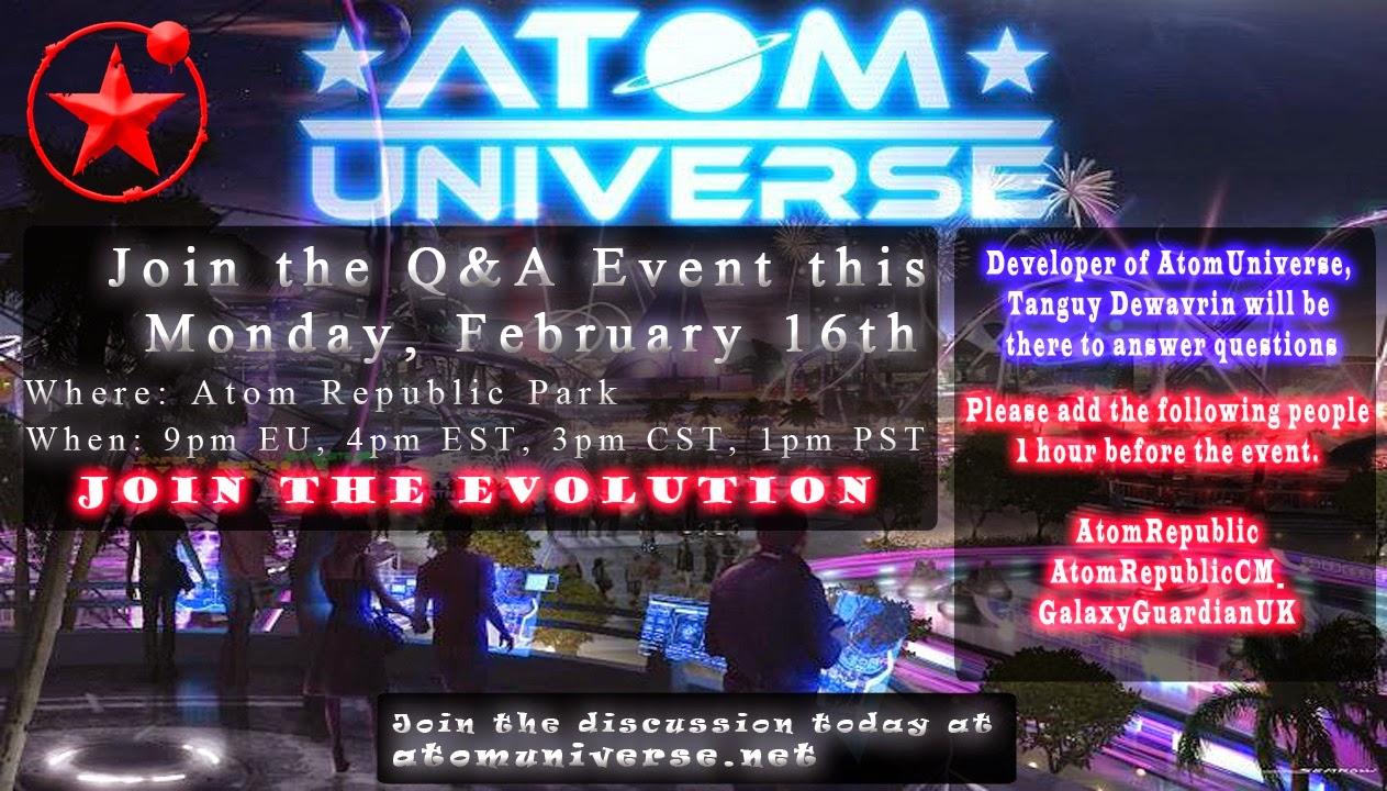 1Pm Pst To Cst q & a in eu this monday! – atom republic
